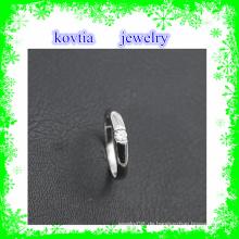 Heiße Verkauf 925 silberne Schmucksachen preiswerte Diamanthochzeitsringe für Frauen einzigartiger Hochzeits-italienischer silberner Ring