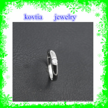 Hot sale 925 silver jewelry cheap diamond wedding rings for women unique wedding Italian silver ring