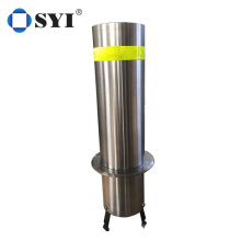 K4 Bollards Hydraulic System Vehicle Stainless Steel Automatic Remote Parking Bollard