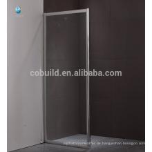 K-562 rahmenlose Schiebe-Duschwand, niedriger Preis 8MM temperierte Duschkabine Zimmer Dusche Bildschirm Scharniere