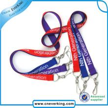 Großhandelskundenspezifisches Logo Silkscreen Druckabzugsleine