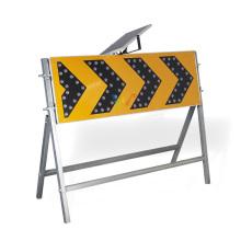 1200*400mm led Road construction solar arrow board