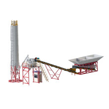 Industrial Concrete Batching Mixer Plant