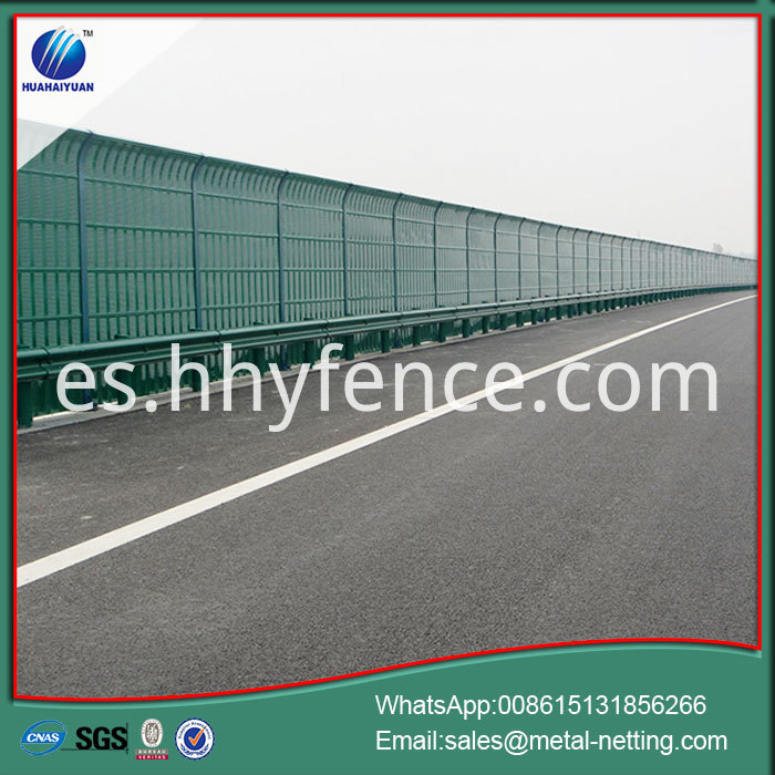Highway Noise Fence Barriers