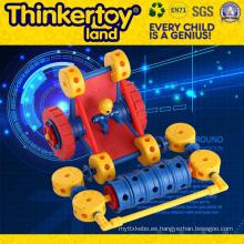 Precio competitivo de plástico para niños juguetes de educación de bloques