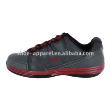 2013 Best Selling Men's New Style PU Basketball Shoes China