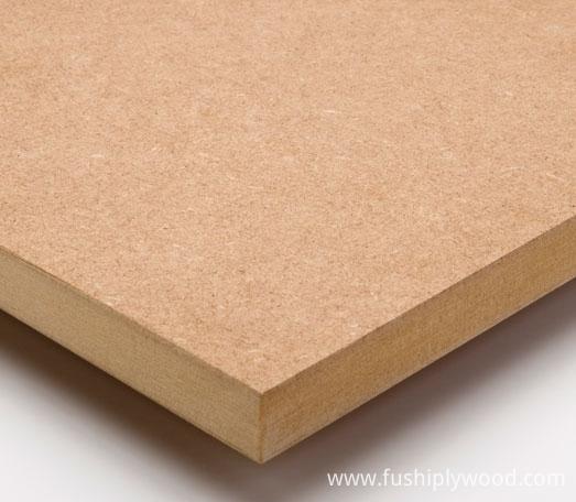 Melamine mdf mm raw plain fancy wood