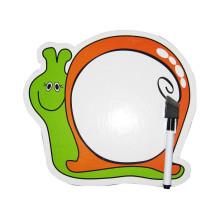 deslizamiento niños movibles niños dibujos animados lindo (estilo caracol) Tablero blanco