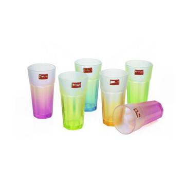 Copa de vidrio de agua potable para cristales de té Kb-Jh06210