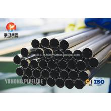 Tubo sem costura de aço inoxidável A213 TP347 TP347H