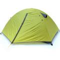 2 Personen Camping Double Layer wasserdicht winddicht Wandern im Freien Zelt