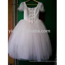 Изготовленный на заказ оптовые дети цветок платье AN1245