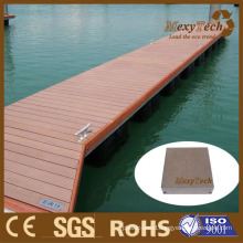 WPC Solid Decking for Marina Application 140*40mm