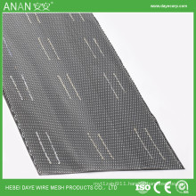 Stainless steel plaster mesh with paper back