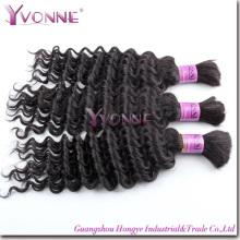 Volume natural do cabelo humano do volume brasileiro do cabelo do Virgin (HT2-HD-BH3A-DW)