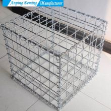 Mesh Dip Galvanized Welded Gabion Wire Mesh