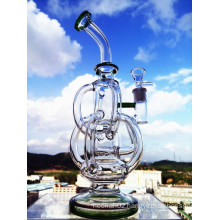Recycler Glass Water Pipe