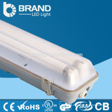 1200mm Waterproof Two Pin G13 Base T8 36w Tri-proof IP65 LED Tube Fixture For Workshop