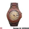 Relógio de madeira quente da venda, relógios de madeira da melhor qualidade