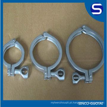 Braçadeira Triclover Sanitária de Aço Inoxidável