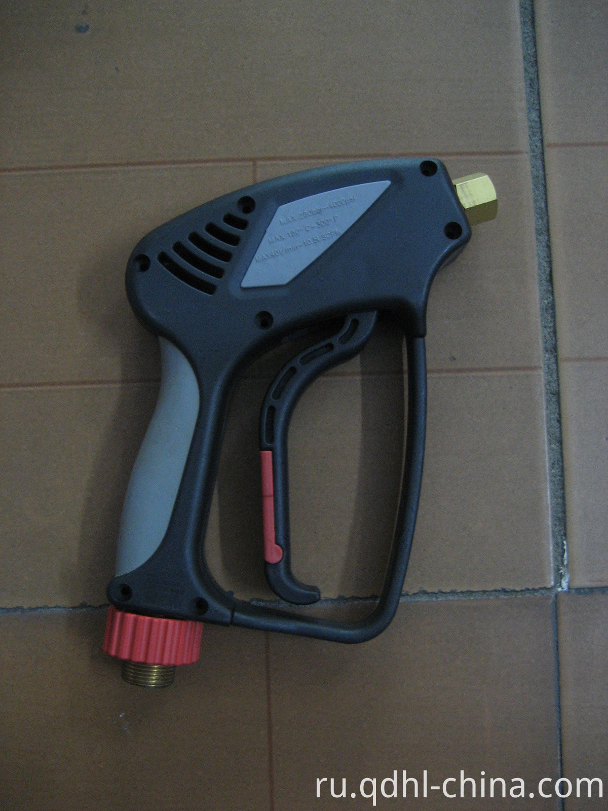 trigger spray gun with swivel inlet