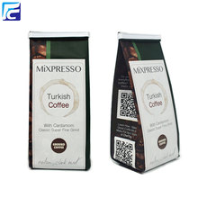 Custom Printed Aluminum foil Coffee bag with valve