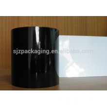 agriculture white and black plastic film