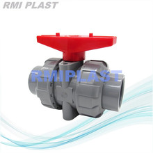 Union Ball Valve CPVC Screw End BSPT