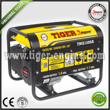 yellow color gasoline generator