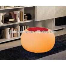 Mode Polyethylen wettbewerbsfähige LED-Tisch