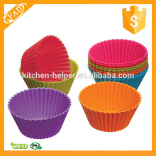 Varying Colors Reusable Silicone Muffin Cups