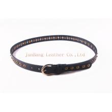 2016 Ladies PU Belt / Holes Elementos Punted Belt com Snaps