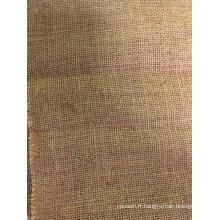 Tissu de nappe de coussin de jute