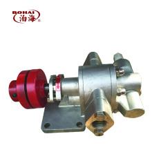 Bomba de engranaje de acero inoxidable KCB18.3 para aceite alimentario / aceite químico