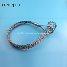 Optical Fibers Cable Grip Steel Wire Mesh Grip
