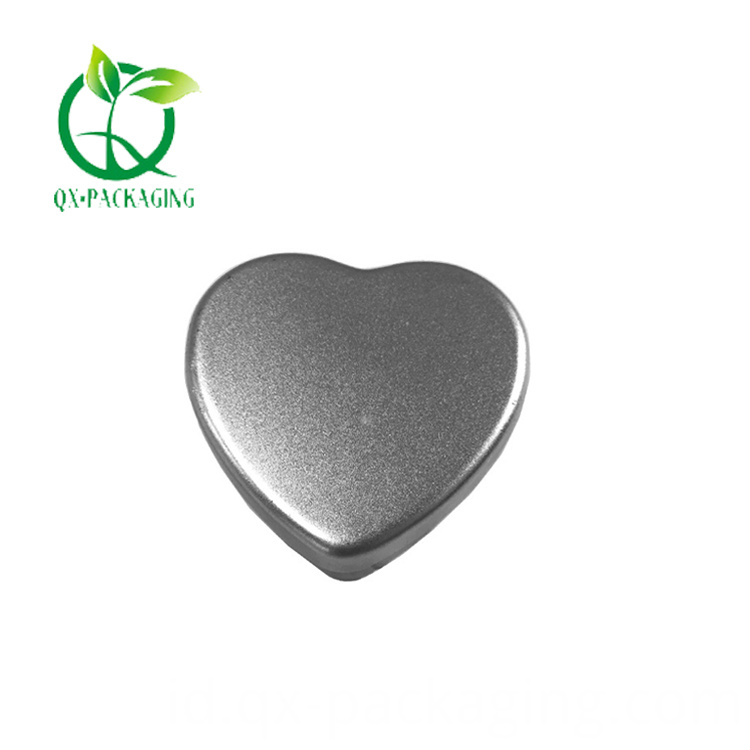 Heart Shaped Candle Tins