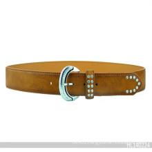 2015 New Fashion Garment Belt Rivet Leather Belt (HJ0332)