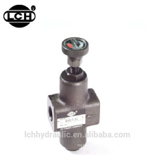 hydraulic flow spool control valve