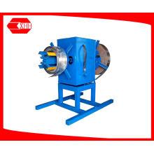 6 toneladas de bobina automática de acero desbobinador hidráulico con doble bobinas