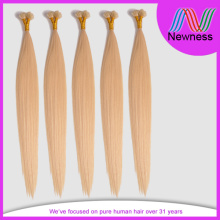 5A Unprocessed Peruvian Blonde I-tip Hair Extensions