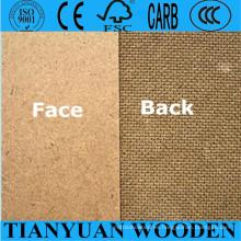 Precio barato Hardboard / 1220X2440mm Brown Hardboard / 2.5mm 3mm Hardboard
