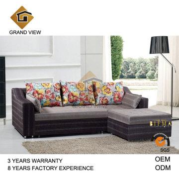 Salon moderne meubles canapé tissu (GV-BS541)