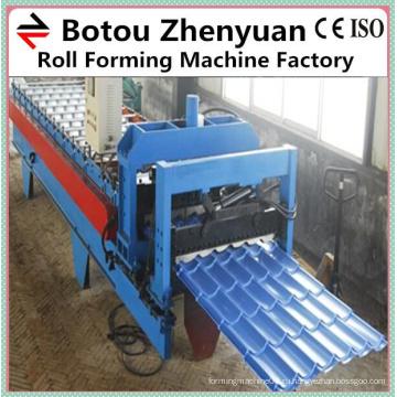 1100 крыша металлическая глазурованная плитка машина в Китае, черепица машина