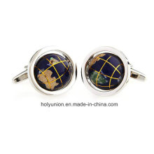 AAA Quality VAGULA Men French Shirt Funny Globe Cufflinks 362