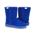 Waterproof winter wide width snow boots for men