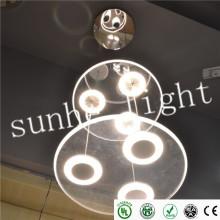 Высокая гарантия 3 года черный белый модный потолочный светильник 5W / 10W / 20W / 36 / и т. Д. Настенный монтаж прост в установке