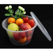 Одноразовые контейнеры для еды круглые ПП 1000мл