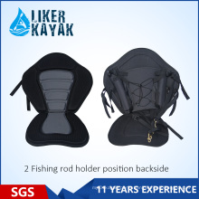 EVA Seat Rod Holders Back Bag for Fishing Kayak