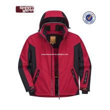 Veste de ski adaptée aux besoins du client de mode colorée active extérieure adulte de hotsale par le fabricant de porcelaine
