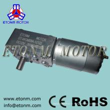 12v 24v dc moteur électrique 70kg.cm rideau électrique à angle droit vis sans fin